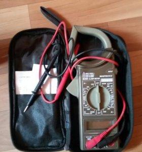 Клещи MASTECH M266 токоизмерительные (мультиметр)