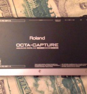 Звуковой интерфейс USB Roland octa-capture 10x10