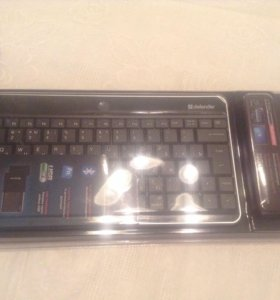 Новая мини клавиатура defender для ipad