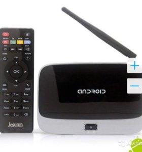 Smart TV Box приставка CS918 Q7 wifi Android (2Гб)