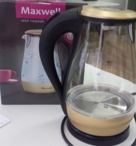 Чайник стеклянный Maxwell