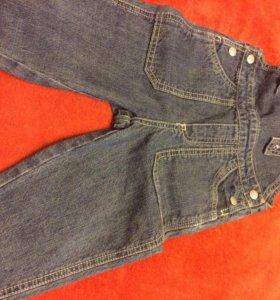 Prenatal джинсовый комбинезон