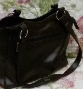сумка кожаная новая
