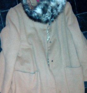 Пальто для девочки.кашимир.