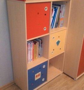 Стеллаж для книг и игрушек