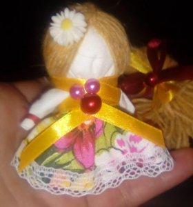 Куколка на счастье, обережная.