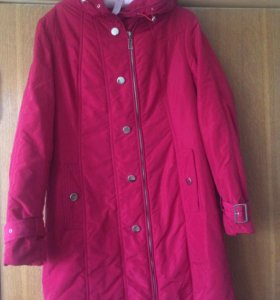 Пальто женское утеплённое