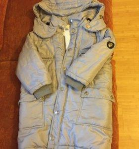 Куртка-пальто 3-4года
