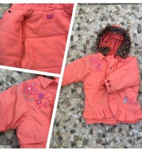 Курточка зима ,Pompolina ,98-104