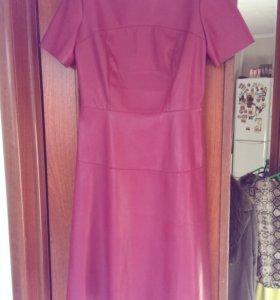 Новое Платье кожзам