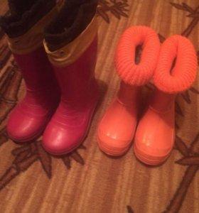 5 пар обуви на мальчика