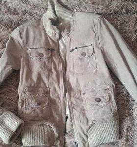 Куртка натуральный замши 42-44