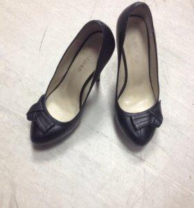 Туфли Calipso, кожа, р. 35-36, обмен