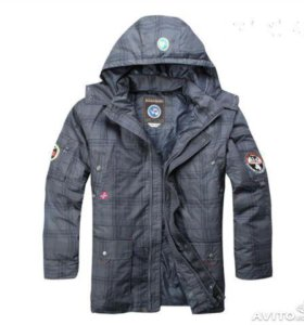 Куртка -пуховик Napapijri. 52 р-р. Новая