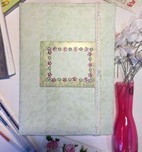 2 блокнота ручной работы (один в подарок)