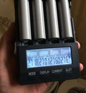 Высокотоковые аккумуляторы 18650 на 2500мАч