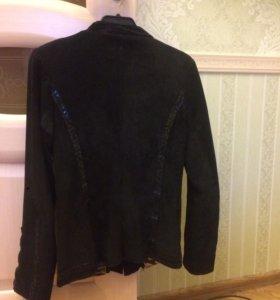 Куртка замшевая женская 44-46