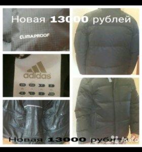Новая мужская  куртка Adidas