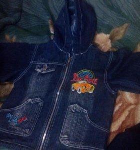Детские куртки.