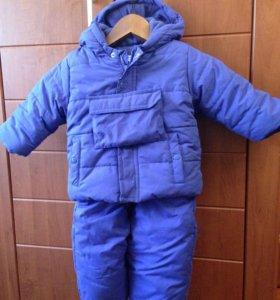 Куртка+комбез (осенне-зимний)