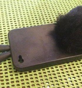 Чехол на Iphone 4s зайка