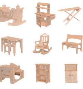 """Детская кукольная мебель из серии """"Beby room"""""""