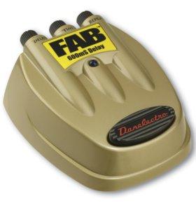 Новая! Педаль эффекта дилей Danelectro D8: Эффект: