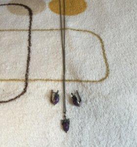 Серебрянные старинные украшения