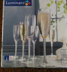 Luminarc. 6 фужеров 170мл.