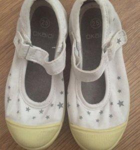 Туфли на девочку,