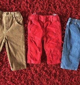 Штанишки брюки джинсы фирменные