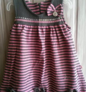 Платье тёплое (104 см)