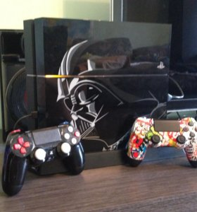 Playstation 4 Star Wars Edition ( + 2 джойстика )
