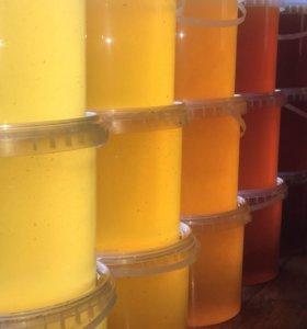 Мёд 1,6кг в ассортименте