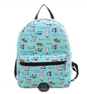 Рюкзак с котиками