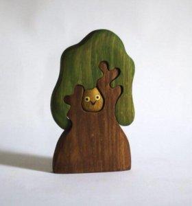 Новое дерево-пазл