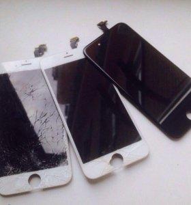 Замена модуля iPhone 6