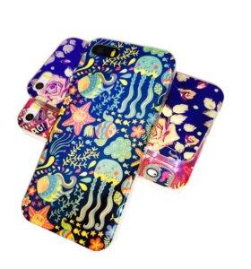 Чехол Blu-Ray iPhone 5/5s/SE (силиконовый)