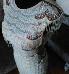 Платье латина бальное