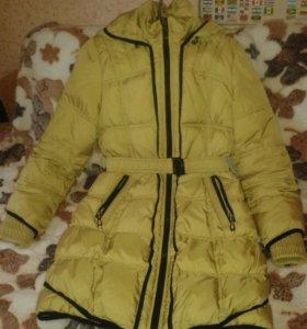 Пальто осеннее для девочки 10-12 лет