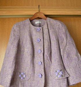 Тёплый пиджак, 48-50 размер