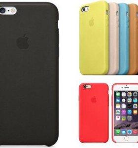 Чехол кожаный smartcase iPhone 5/6/6plus