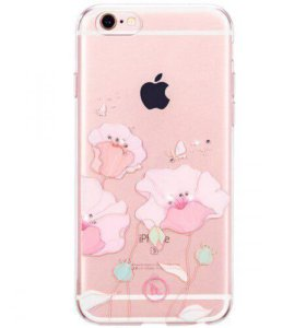 Силиконовый чехол  hoco super star iPhone 6/6plus