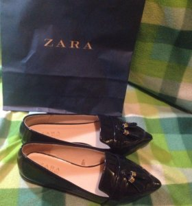 Лоферы. Zara