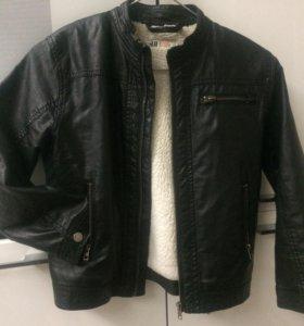 Куртка ЭКО кожа 128