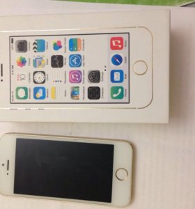 iPhone 5s 32 gb gold