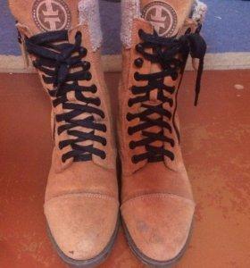 Зимняя фирменная обувь от Karri. С прошивкой.