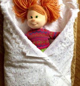 Конвертик-одеялко