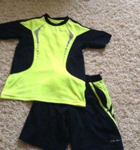 Комплект шорты и футболка Demix р.140