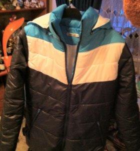 Куртка теплая, новая!!!